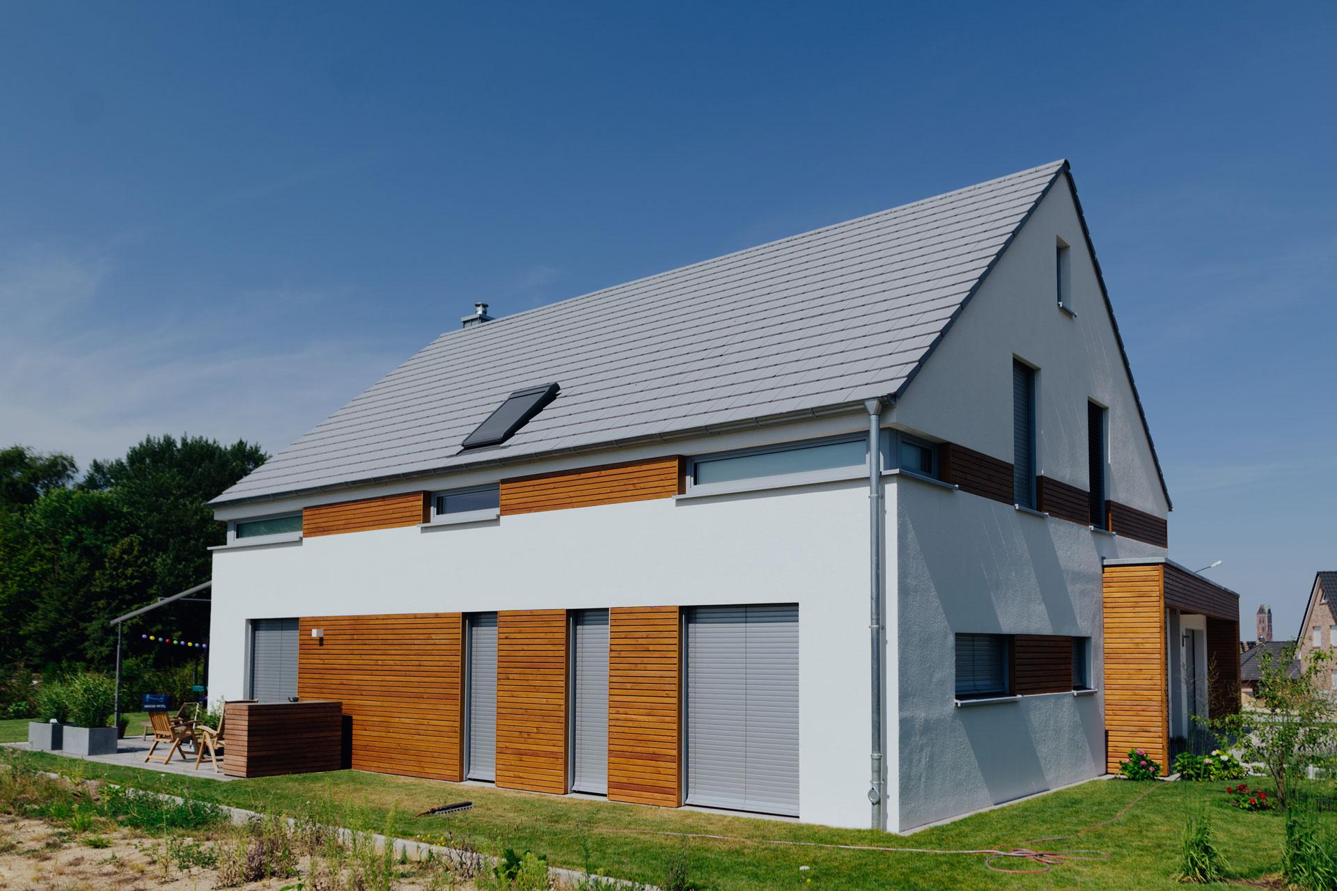 Einfamilienhaus in Wismar (04) / Totale