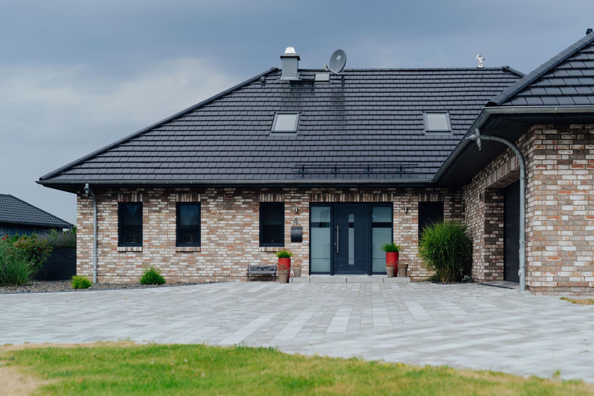 Dachdeckerarbeiten am Einfamilienhaus im Landkreis Bad Doberan