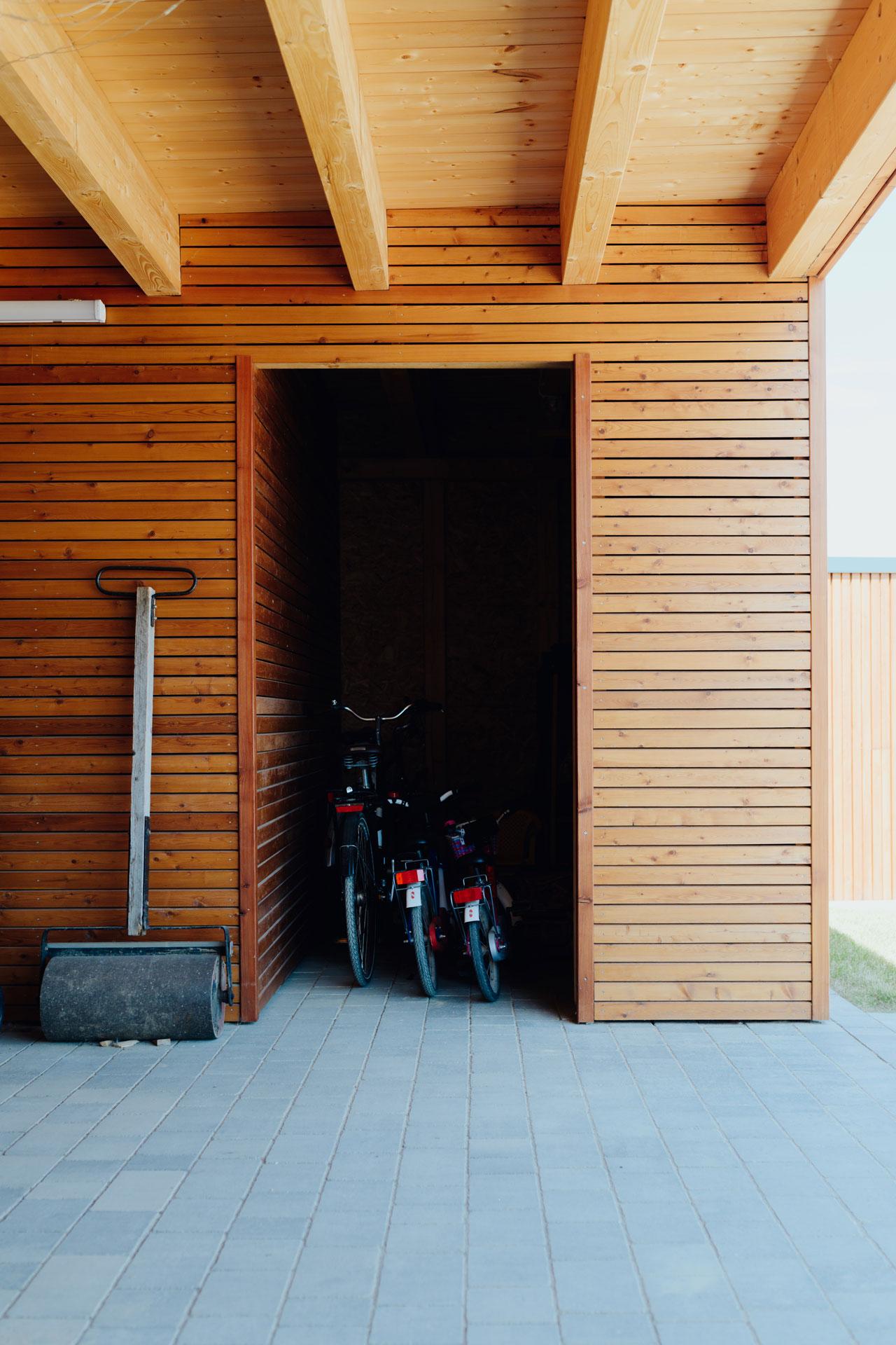 Carport in Wismar (01) / Nahaufnahme