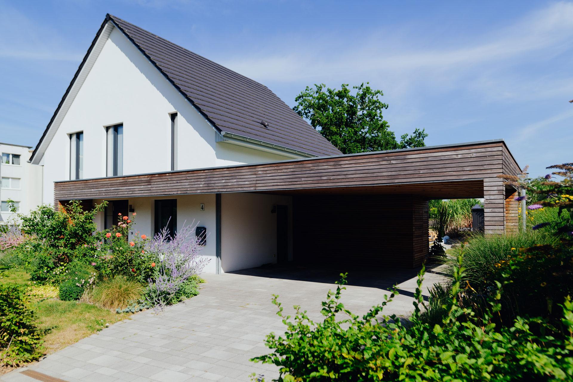 Carport in Wismar (03) / Totale