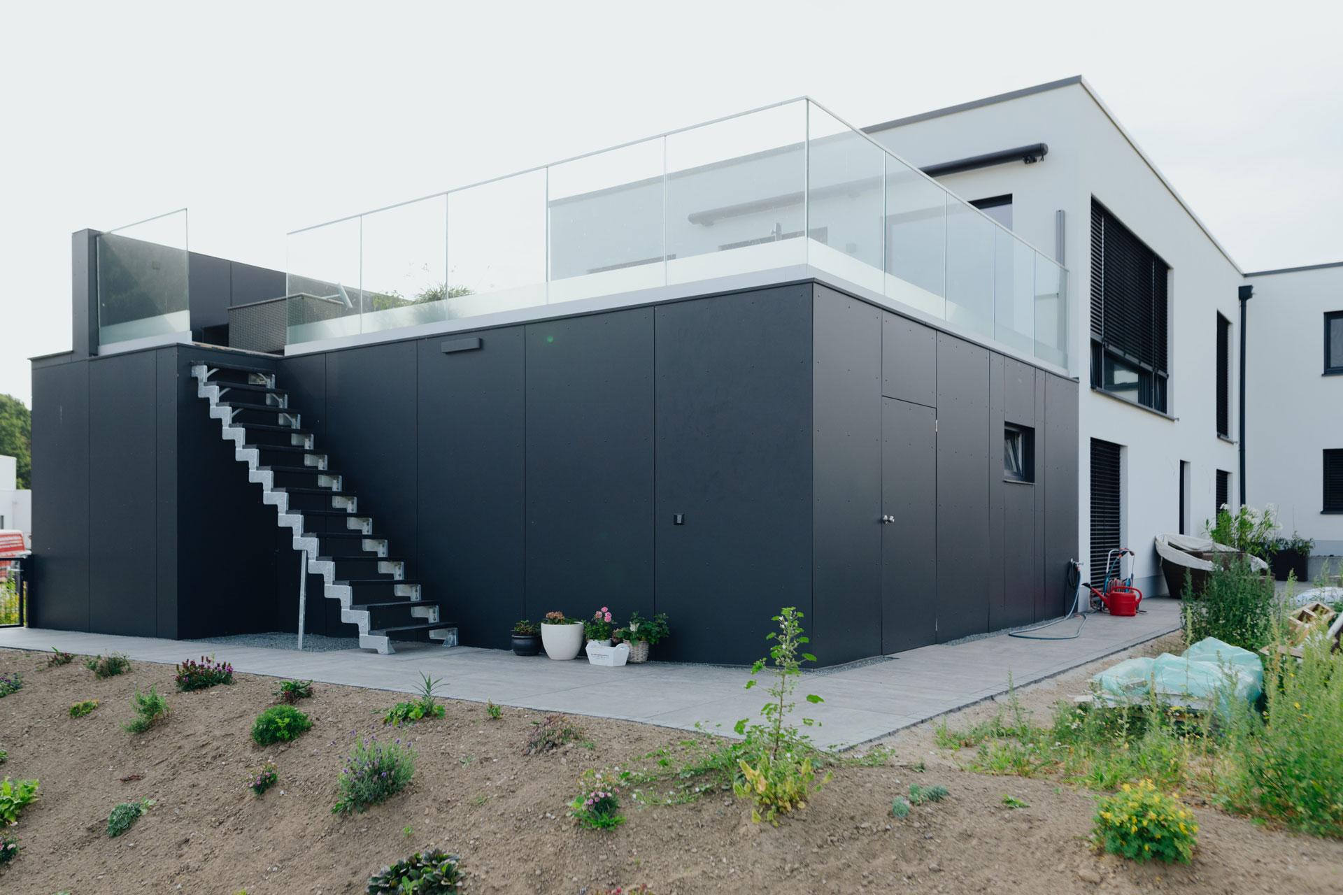 Doppelhaus in Wismar (01) / Nahaufnahme