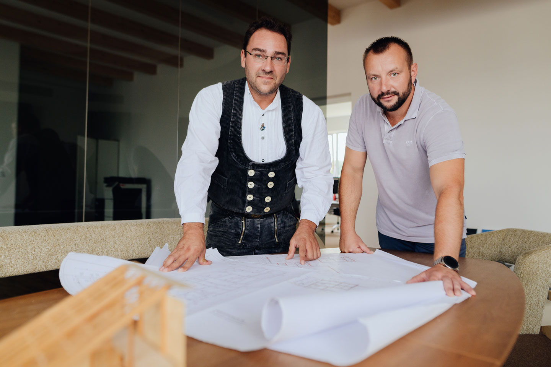 Marco Krenz und Stefan Müller Portrait