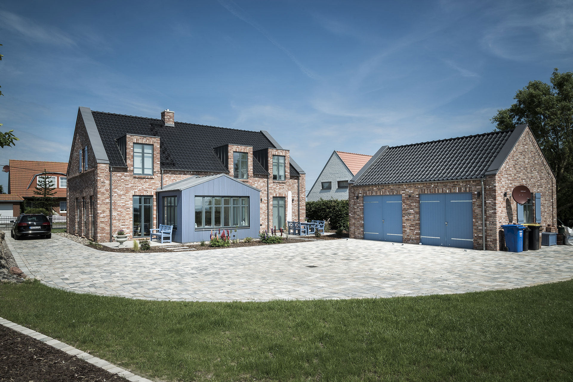 Einfamilienhaus im Landkreis NWM (09) / Totale