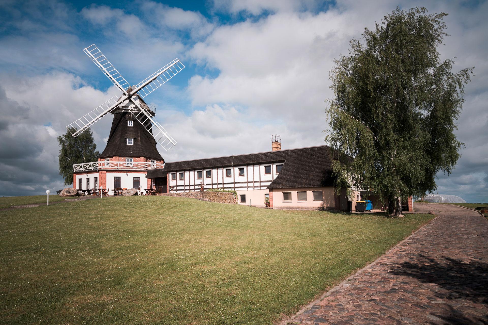 Mühle im Landkreis NWM / Totale